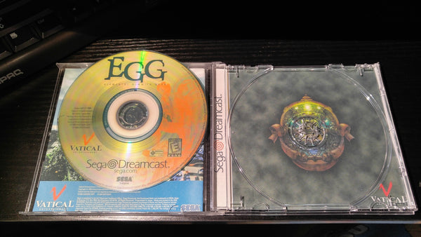 Elemental Gimmick Gear E.G.G. Sega Dreamcast reproduction