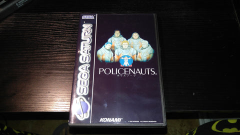 Policenauts Sega Saturn english translated Reproduction copy