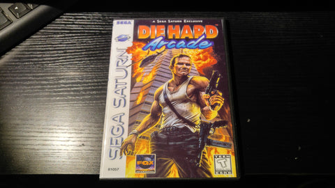 Die Hard Arcade Sega Saturn reproduction