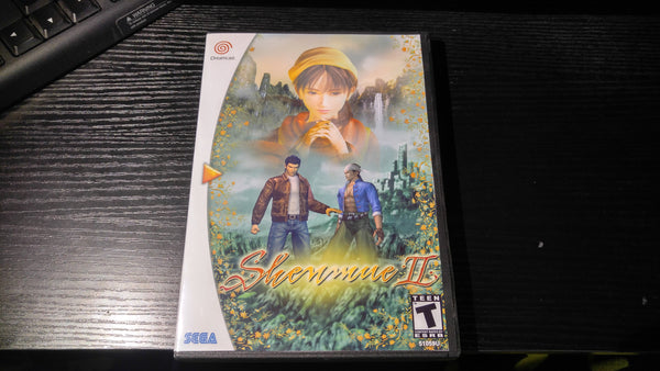 Shenmue 2 Sega Dreamcast reproduction