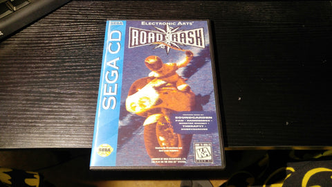 Road Rash Sega CD reproduction