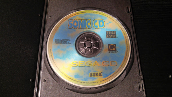 Sonic CD Sega CD reproduction