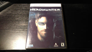 Headhunter Sega Dreamcast reproduction