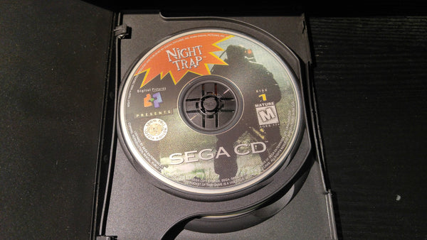 Night Trap Sega CD Reproduction