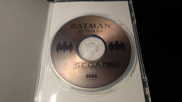 Batman Returns Sega CD reproduction