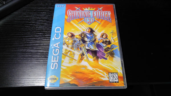 Shining Force CD Sega CD Reproduction