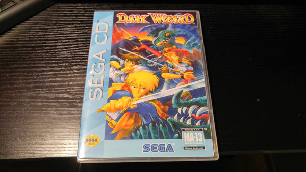 Dark Wizard Sega CD Reproduction