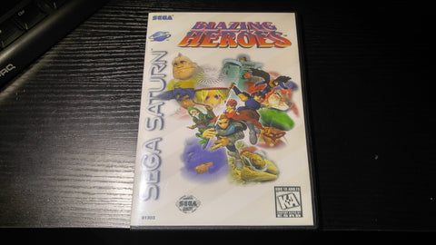 Blazing Heroes Sega Saturn Reproduction