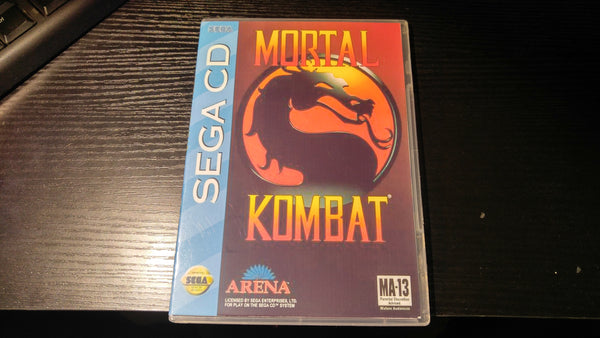 Mortal Kombat Sega CD reproduction