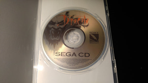 Dracula Sega CD reproduction