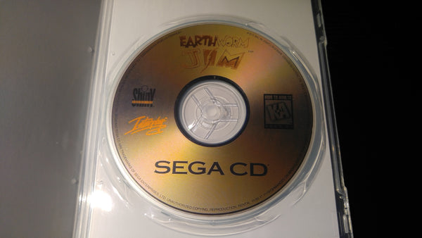 Earthworm Jim Sega CD reproduction