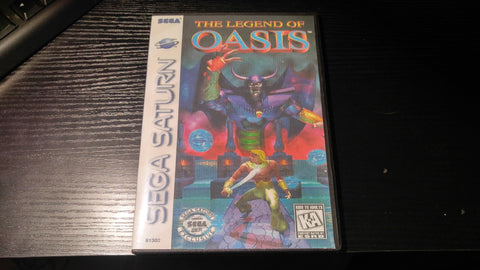 The Legend of Oasis Sega Saturn Reproduction