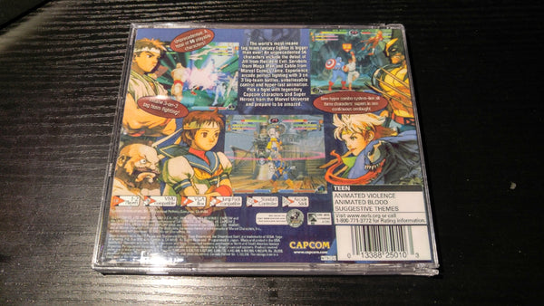 Marvel vs capcom 2 Sega Dreamcast Reproduction back up