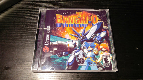 Bangai-o Sega Dreamcast Reproduction back up