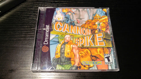 Canon Spike Sega Dreamcast reproduction