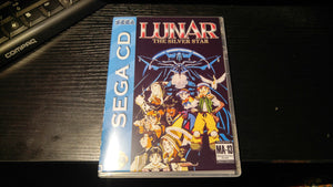 Lunar Silver Star Sega CD reproduction