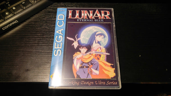 Lunar Eternal Blue Sega CD reproduction