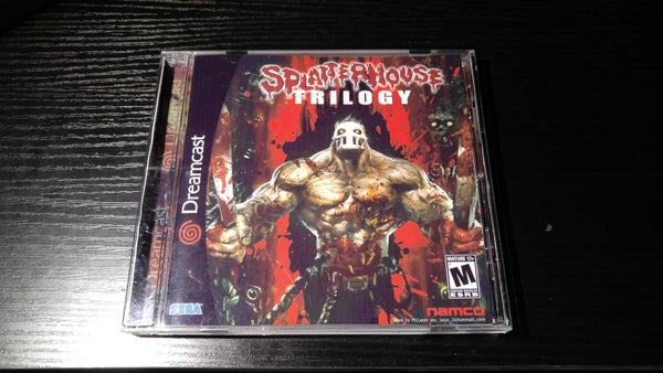 Splatterhouse Trilogy Sega Dreamcast Reproduction