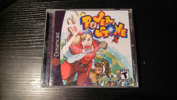 Power Stone Sega Dreamcast Reproduction