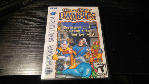 Three Dirty Dwarves Sega Saturn Reproduction