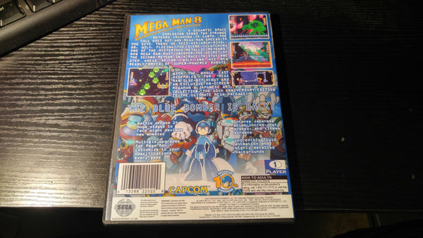 Mega Man 8 Sega Saturn Reproduction back up