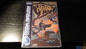 Panzer Dragoon II Zwei Sega Saturn Reproduction