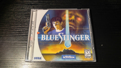 Blue Stinger Sega Dreamcast reproduction