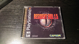 Resident Evil 1.5 unreleased PS1 game
