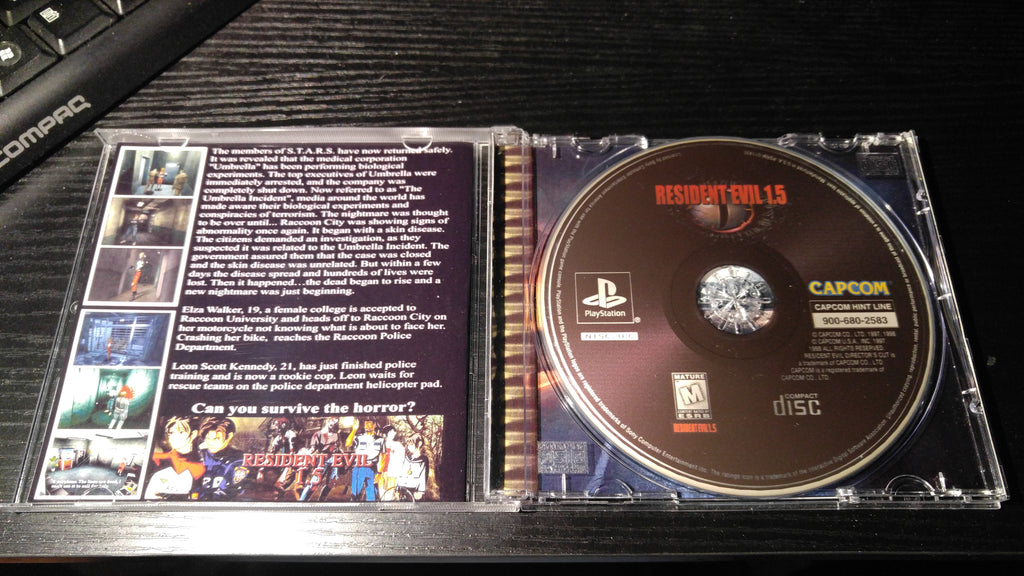 Resident Evil 1 5 Unreleased Ps1 Game Latest 2020 Update Nightwing Video Game Reproductions