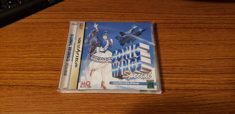 Sonic Wings Special Sega Saturn reproduction