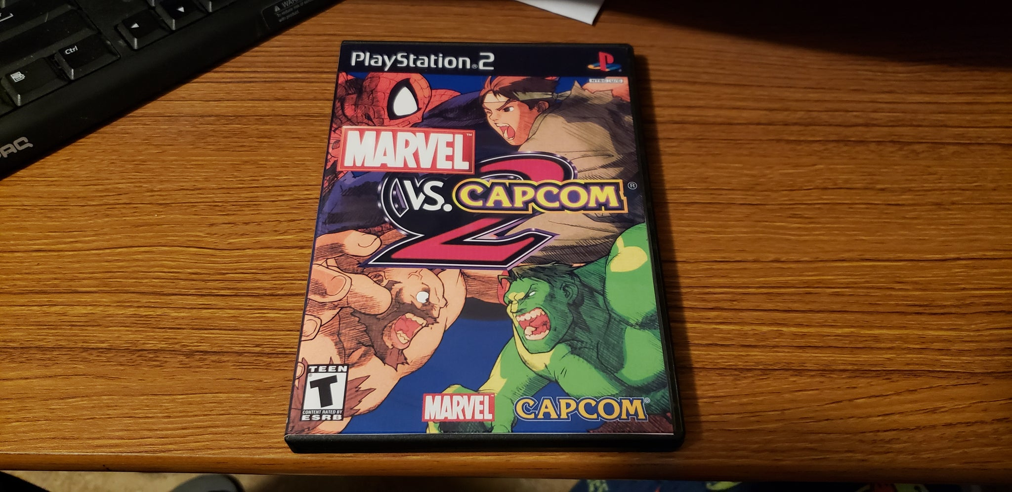 Marvel vs Capcom 2 PS2 Reproduction