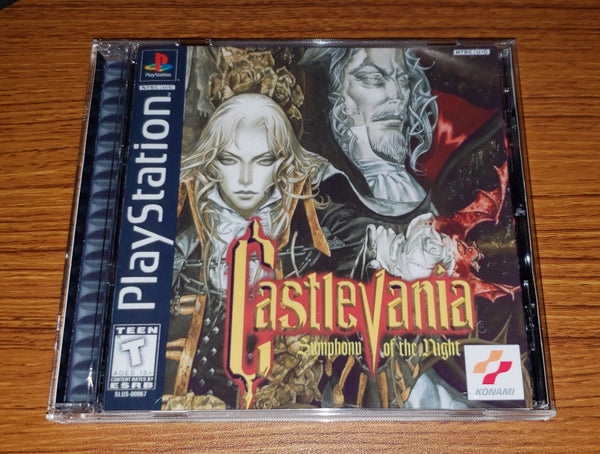 Castlevania Shmphony of the Night Reproduction