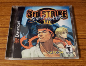 Street Fighter 3 3rd Strike Sega Dreamcast reproduction
