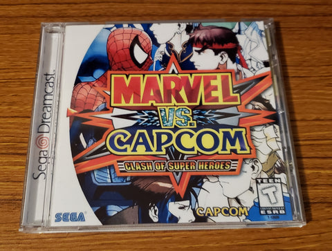 Marvel vs Capcom 1 Sega Dreamcast reproduction