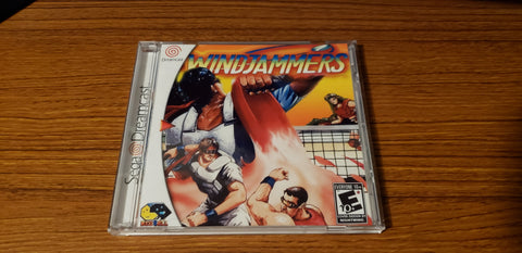 Windjammers Sega Dreamcast reproduction