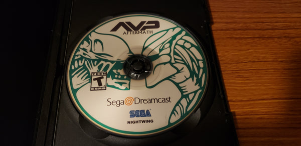 Alien Vs Predator Aftermath Sega Dreamcast Beats of Rage