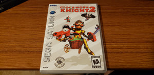 Clockwork Knight 2 Sega Saturn reproduction