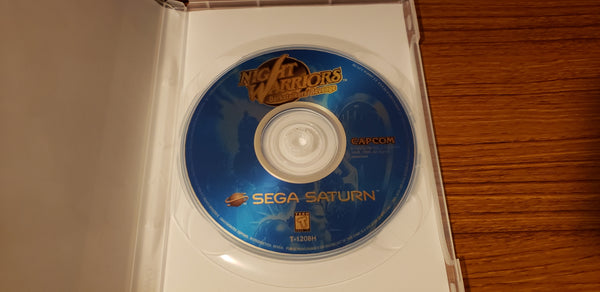 Night Warriors Sega Saturn reproduction