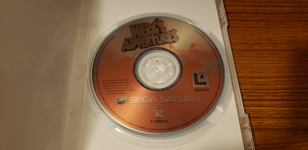 Hercs Adventure Sega Saturn reproduction