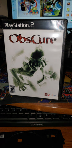 Obscure PS2 reproduction