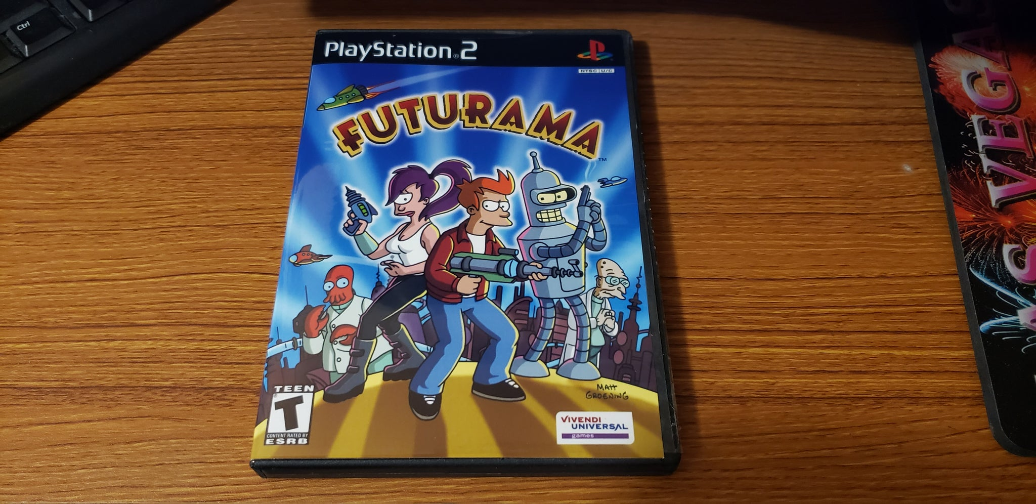 Futurama PS2 Reproduction