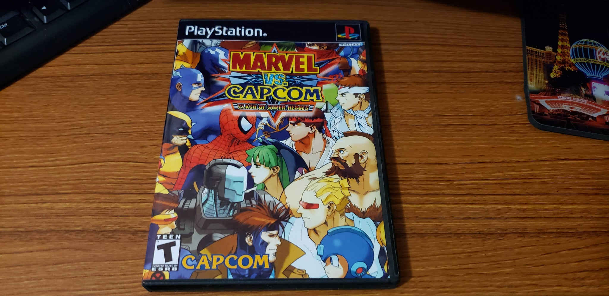 Marvel vs Capcom PS1