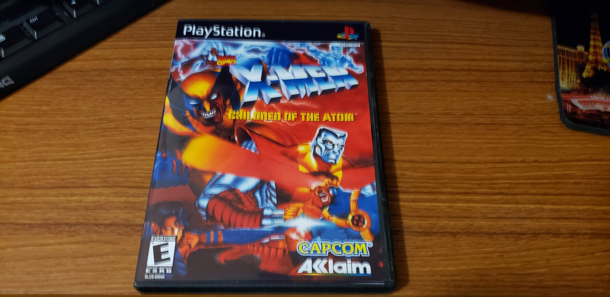 Xmen Children of The Atom playstation reproduction