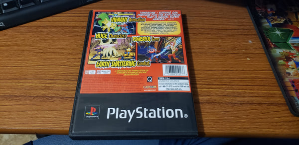 Marvel Superheroes PS1 reproduction