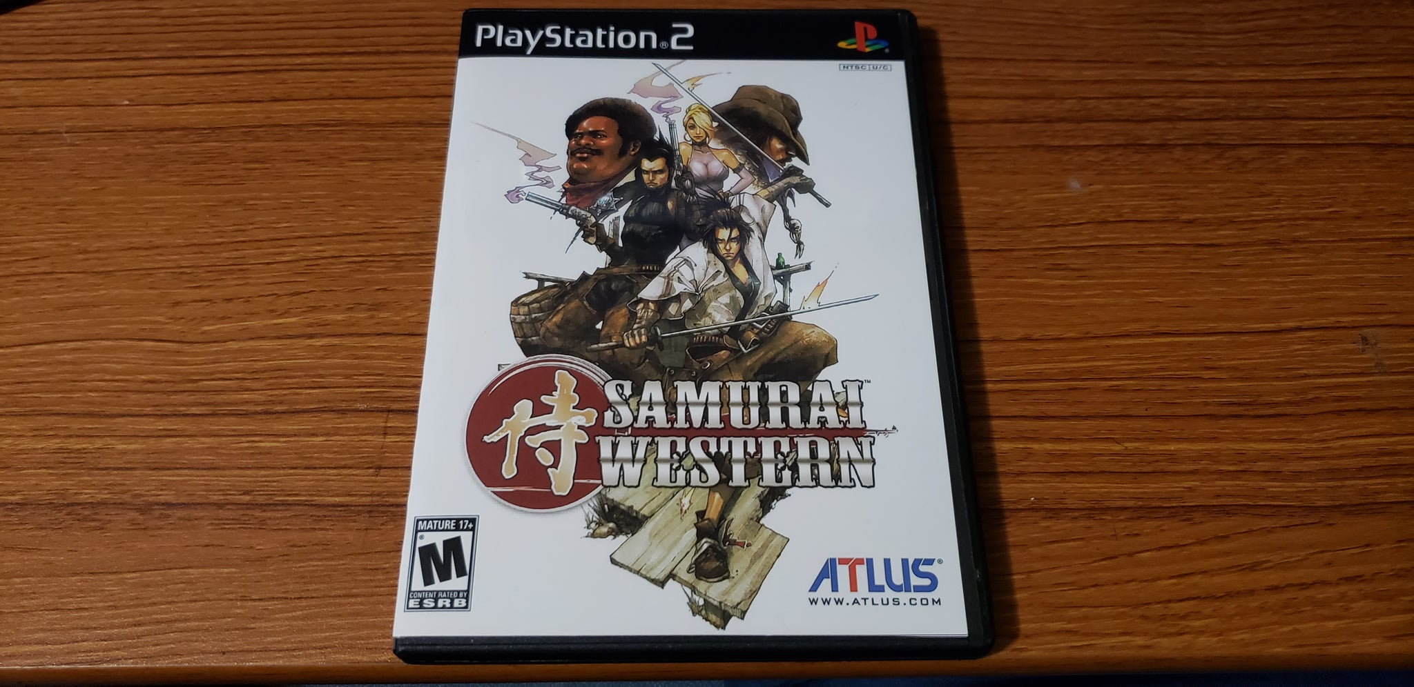 Samurai Western PS2 Reproduction