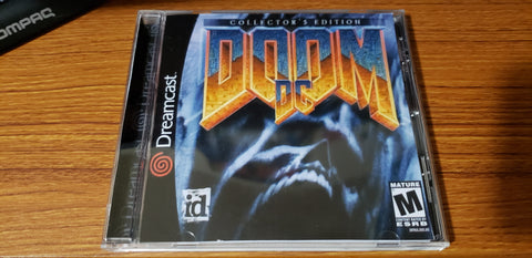Doom Sega Dreamcast reproduction homebrew