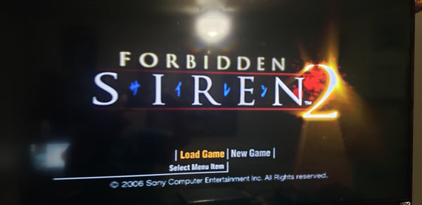 Forbidden Siren 2 PS2 Reproduction