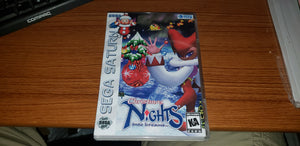 Christmas Nights into Dreams Sega Saturn reproduction