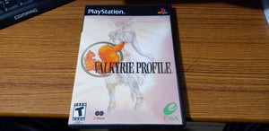 Valkyrie Profile PS1 reproduction