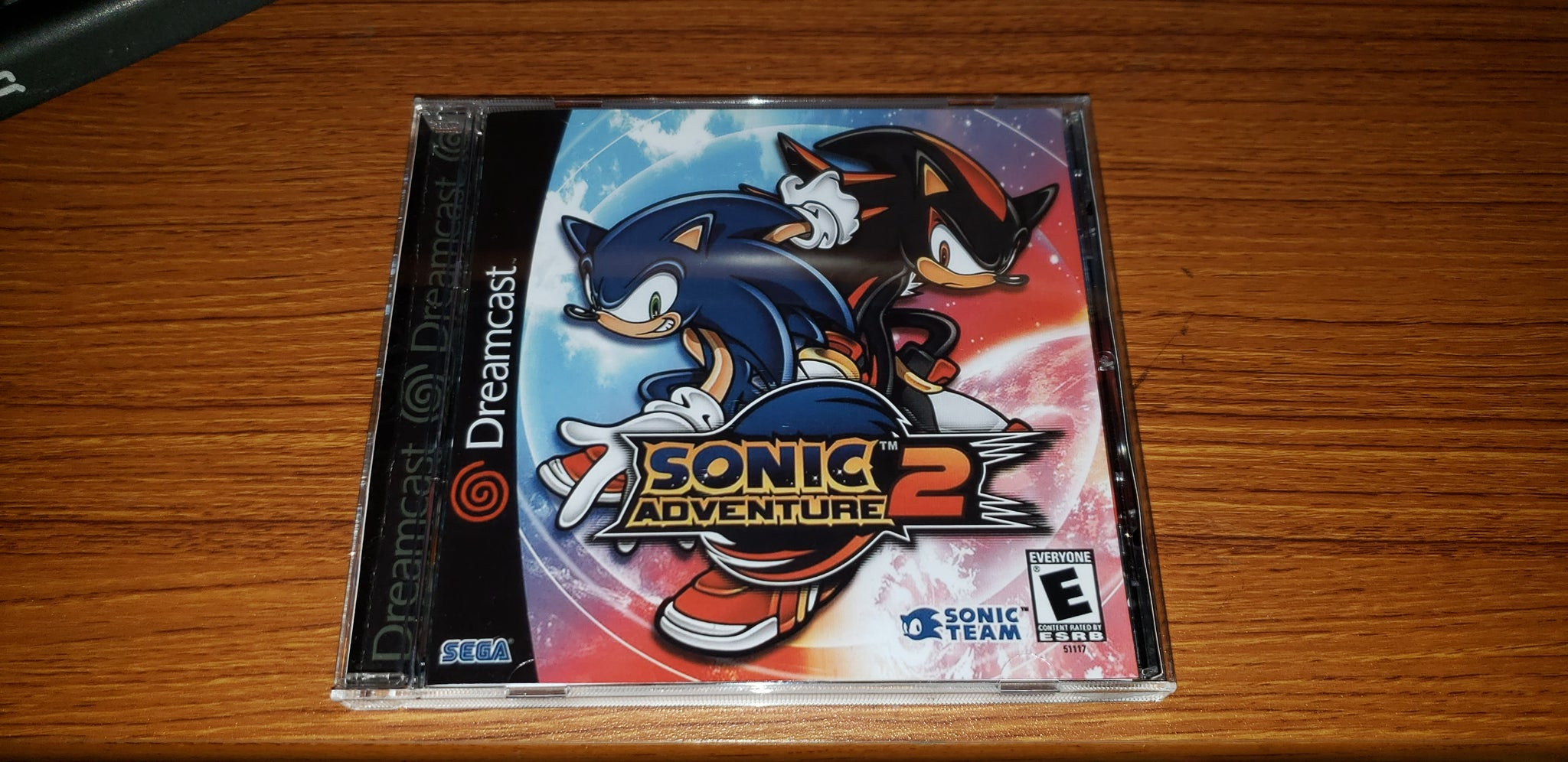 Sonic Adventure 2 Sega Dreamcast Reproduction